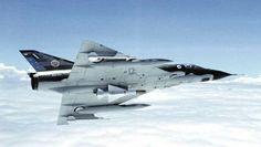 Royal Australian Air Force Dassault Mirage A3-10 interceptor in March 1981.