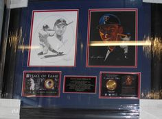 Harmon Killebrew SIGNED Photo Display LE Coin FRAMED Collage PSA RARE 1/1 Twins