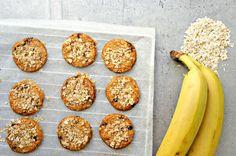 Sunde cookies - opskrift på nemme og lækre banana-cookies (to ingredienser)