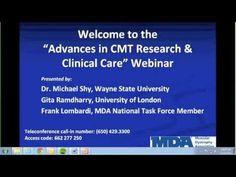 "MDA Webinar - ""Advances in CMT Research & Clinical Care"""