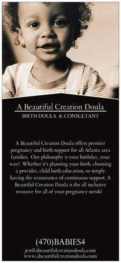 Did you know Vistaprint has Rack Cards? Check mine out! Create anything from Business cards to birthday party invites at Vistaprint.com. http://www.abeautifulcreationdoula.com
