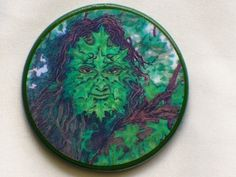 GREENMAN Talisman Amulet Witch Wicca Pagan by EclecticEnchantments