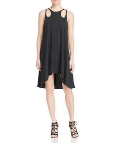 Timo Weiland Emily Cutout High/Low Dress