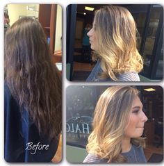 Lighten up! Soft and pretty by Amber Hall @ Halo Designs Salon