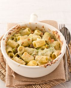 Pasta al forno con verdure e besciamella alla senape
