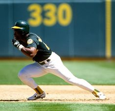 "mightyflynn: "" ""It wasn't until I saw Rickey that I understood what baseball was about. Rickey Henderson is a run, man,"" said Athletics teammate Mitchell Page. When you see Rickey. Kc Royals Baseball, Baseball First, Baseball Tops, Nationals Baseball, Baseball Photos, Baseball Season, Baseball Players, Pro Baseball, Baseball League"