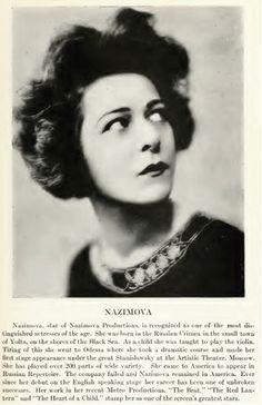 Nazimova 1920