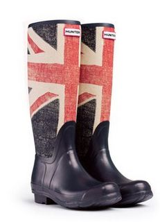 Going to a festival in Britain? Got your Union Jack scarf? Then you'll also be needing these.