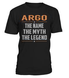 ARGO - The Name - The Myth - The Legend #Argo