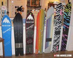 Vermont Ski and Snowboard Museum - Vintage 80's Burton Snowboards