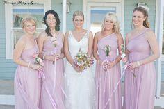 beutiful bride & bridemaids