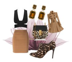 """""""PARTY STYLE: Fresh and minimal sexy"""" by misshollowpointslug ❤ liked on Polyvore featuring Lanvin, Balmain, Chloé and Goshwara"""