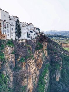 Viewpoints in Ronda Andalusia Spain