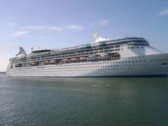 Enchantment of the Seas, Welcome to Port Canaveral.  Can't wait to sail on her w/family soon!