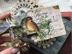 Hello Friends! I hope that you all are well. Thank you for joining me today! I am sharing a new tutorial for a mini Junk Journal that I created with the new Tim Holtz Sizzix Pocket Frame Die. Here&…