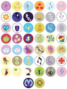 cutie mark my little pony friendship magic - Google Search