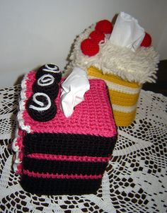 tissue box covers that are cakkkkke