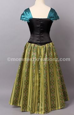 Frozen Anna Coronation Dress, Anna birthday outfit