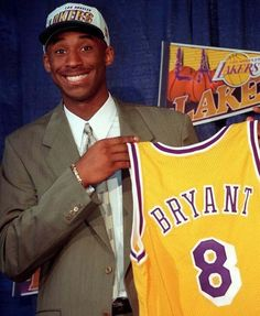 Kobe Bryant at 18 (1996).