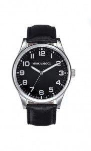 Colección Classic - HC3005-55. Reloj de caballero en tres agujas. Esfera color negro y correa negra. Impermeable 30 metros (3 ATM). Precio: 35,00 €