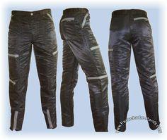 80s Nylon zippered parachute pants.  Whoa!  I had a pair...lol!