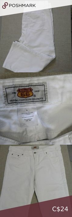 I just added this listing on Poshmark: Route 66 white jean cspris. Dark Wash Jeans, White Jeans, White Shorts, Capri Jeans, Guess Jeans, Route 66, Colored Jeans, Stretch Jeans, Flare Jeans