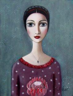 portrait by Sandra Pelser