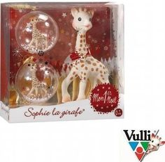 Sophie la Girafe My First Christmas Teether Gift Set Free S/H Baby's First Christmas Gifts, Baby Christmas Gifts, Christmas Gift Decorations, Babies First Christmas, Christmas Balls, Christmas Tree Ornaments, Christmas Time, Christmas Ideas, Newborn Christmas