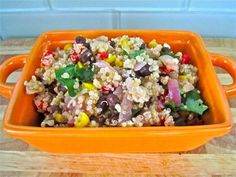 Tropical Quinoa Salad