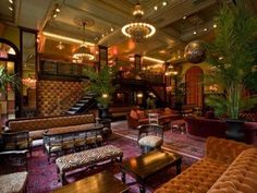 The Jane New York: go clubbing in The Meatpacking district at The Ballroom | http://www.yourlittleblackbook.me/jane-hotel-new-york/