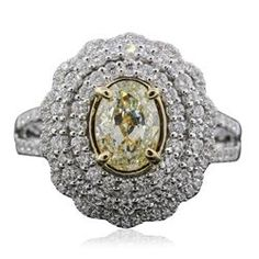 18KT White Gold 2.02ctw Diamond Ring - Longfellow Auctions