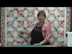 "Wow! I LOVE this quilt tutorial. Jenny from the Missouri Star Quilt Company calls it her ""Katie"" quilt, named after her granddaughter."