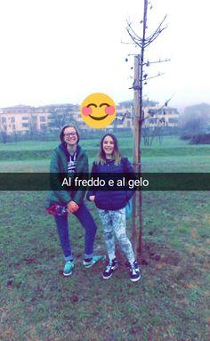 Martina con Giorgia