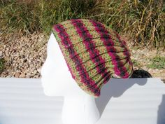 Wool Hat by stickshooksandyarn on Etsy
