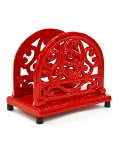Look what I found on #zulily! Red Annecy Napkin Holder #zulilyfinds
