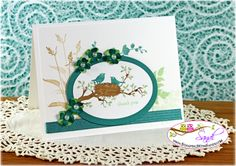 Stampin Up World of Dreams card by Sandi @ www.stampingwithsandi.com - PDF Tutorial shared for this project today  http://stampingwithsandi.com/stampin-up-world-of-dreams-for-a-thank-you-card/