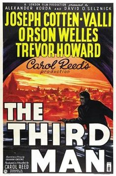The Third Man US Poster