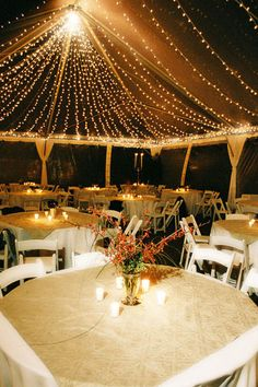 Everything's cooler under the right lighting! I want the inside of the tent to look like the stars