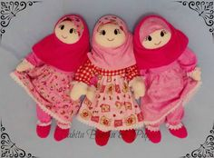Moslem softdolls 55cm with removable costumes
