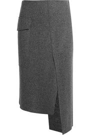 Kiki wool-blend skirt