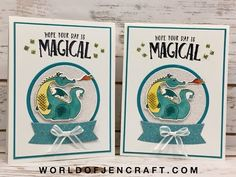 Stampin' Up! Magical Day Mini Series - Part 1 - YouTube