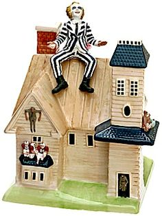 Betelguise, Betelguise, Betelguise  Oh no, it's a Beetlejuice Cookie Jar