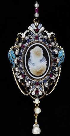 Pendant   Bissinger, Georges   V&A Search the Collections Pendant Date: ca. 1865 (made) Place: London Artist/maker: Bissinger, Georges