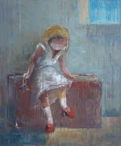 "Saatchi Art Artist Anna Ravliuc; Painting, ""And ready to go..."" #art"