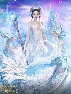 Princesa de hielo Legend of the cryptids
