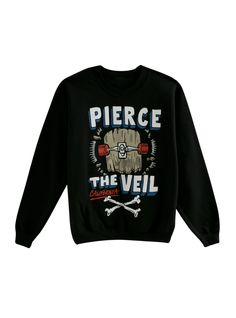 Um, so we just got this insane PTV Sweatshirt.