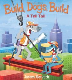 Join head foreman Duke and his crew of worker dogs on a busy day of construction fun in this colorful picture book written and illustrated by James Horvath. With lively scenes showing accurately illustrated vehicles in action, this book will be a joy to read out loud for truck-obsessed readers and their parents!