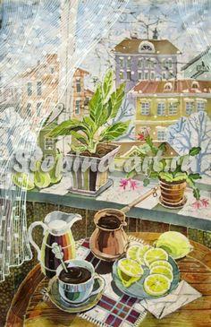 Елена Стёпина: батик, живопись, графика. Art Works, Art And Technology, Art Painting, Silk Painting, School Art Projects, Painting, Beautiful Paintings, Art, Design Art