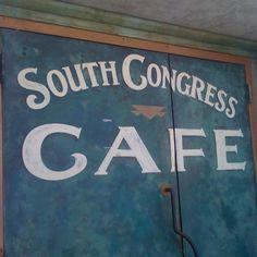 In Austin, TX! Best Restaurant in Congress... <3