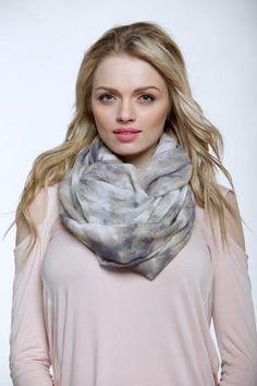 Purple Cloud infinity scarf
